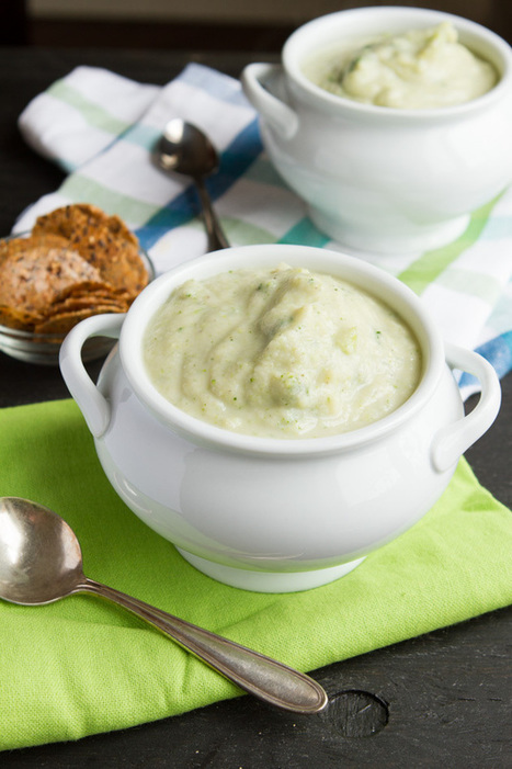 Vegan Cream of Broccoli Soup | Vegetarian and Vegan | Scoop.it