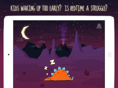 Make Bedtime Stress Extinct With Sleepasaurus, A Sleep Trainer App For Kids | Elementary Technology Education | Scoop.it