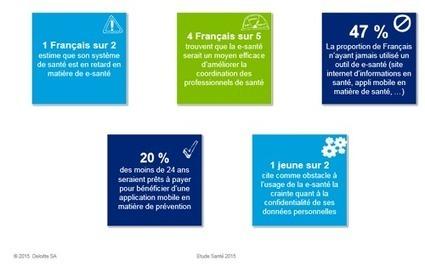 E-santé et les Français : un décalage entre attente et usage | Santé & Médecine | Scoop.it