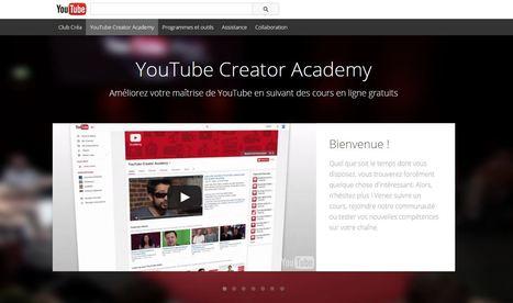 YouTubeCreatorAcademy : Améliorez votre maîtrise de YouTube en suivant des cours en ligne gratuits | Going social | Scoop.it