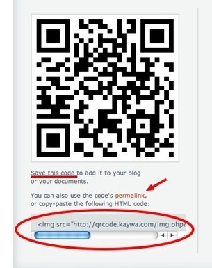 Cómo crear un código QR con Kaywa   #REDXXI   Scoop.it
