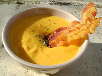 Soupe Crémeuse aux Carottes   Salé - plats   Scoop.it