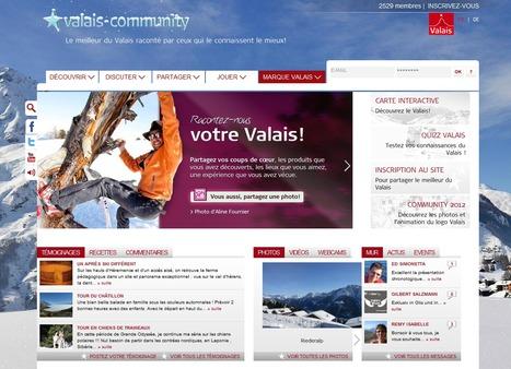 Le site valais-community | Marque Valais | Scoop.it