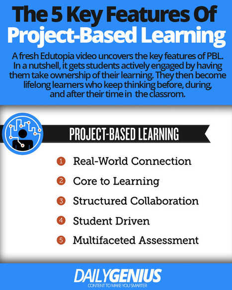 The 5 key features of project-based learning | Smart Media | Scoop.it