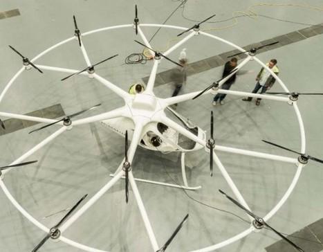 Volocopter VC 200 entre le drone et l'hélicoptère | In'Geek | Geek et Freeware | Scoop.it
