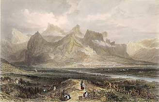 Antique prints | France | Mountain of the Grande Chartreuse, from Grenoble | The Mystery of the Chartreuse Liqueur | Scoop.it