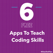 6 Free Apps to Teach Coding Skills - ClassTechTips.com | Ope IT | Scoop.it