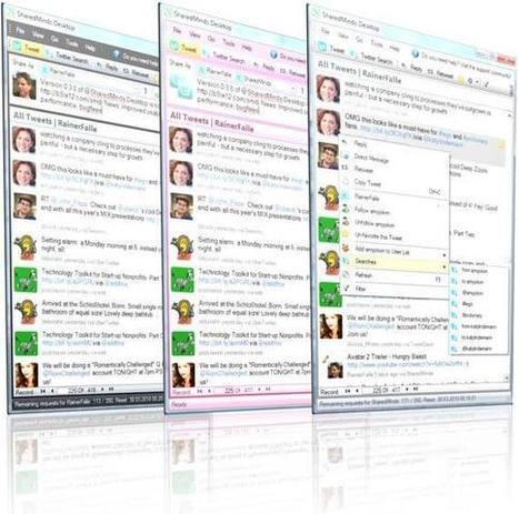 SharedMinds Desktop  client twitter  windows | François MAGNAN  Formateur Consultant | Scoop.it