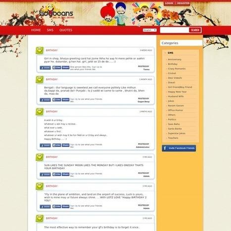 Tidybeans SMS Jokes | AmebaEntertainment | Scoop.it