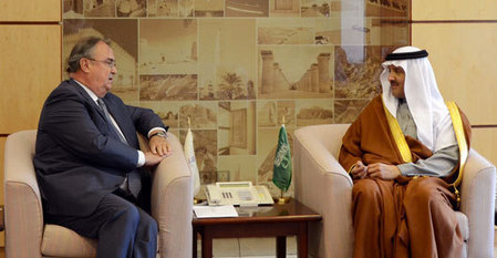 General News - Prince Sultan bin Salman receives the Spanish Ambassador | Turismo en España | Scoop.it