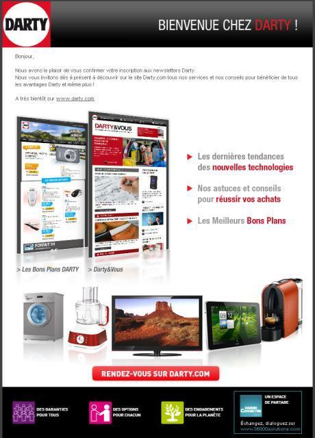 Comment améliorer votre email de bienvenue ? - Mon Client Digital | promo review mars | Scoop.it