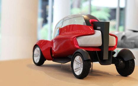 3D printed concept car for AUDI self-assembles itself - designboom | architecture & design magazine | BarFabLab | Scoop.it