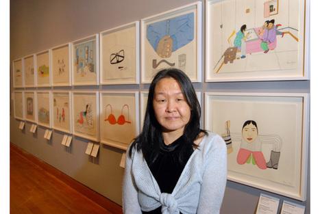 The Art Gallery of Nova Scotia mourns the death of Inuit artist Annie Pootoogook   Nova Scotia Art   Scoop.it