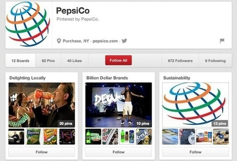 How Pepsi uses Facebook, Twitter, Pinterest and Google+ | Marketing coach2u | Scoop.it