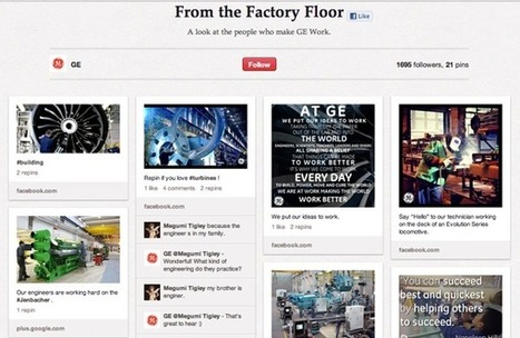 7 Industries You Wouldn't Expect to Be Creative on Pinterest (But Are) | industrie 2.0 | Scoop.it