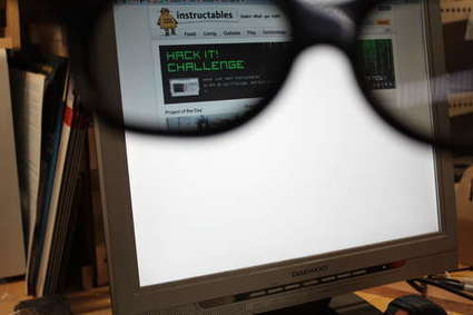 Privacy monitor hacked from an old LCD Monitor   The Best of Sécurité Informatique   Scoop.it