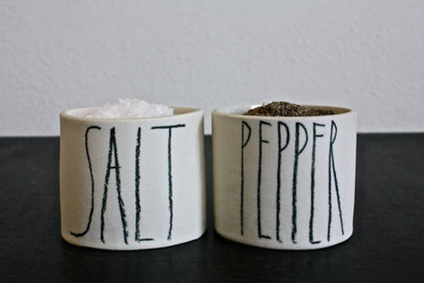 SALT and PEPPER cellars. | Etsymode | Scoop.it