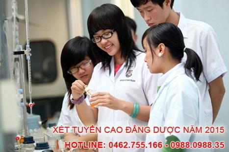 Tuyển sinh Cao đẳng Dược hệ chính quy năm 2015 - Báo Sinh Viên Việt Nam | bacsyhanoi | Scoop.it