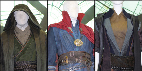 Doctor Strange Costumes On Display At Marvel's Comic-Con Stage | Comic Book Trends | Scoop.it
