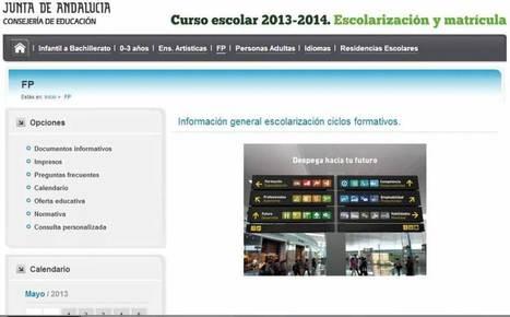 Solicitud de plaza para Ciclos Formativos | orientagades | Scoop.it