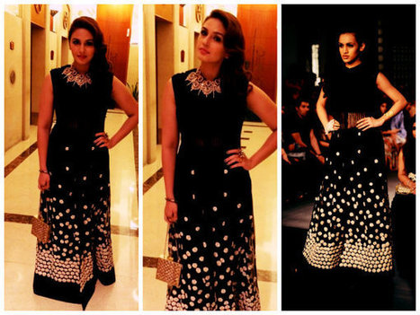 Huma Qureshi Sizzles In Ridhi Mehra At SIIMA 2014 | CHICS & FASHION | Scoop.it