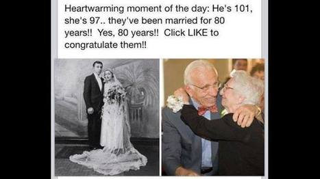 The Couple Married For 80 Years And Still Going Strong. | Inspirations | Scoop.it