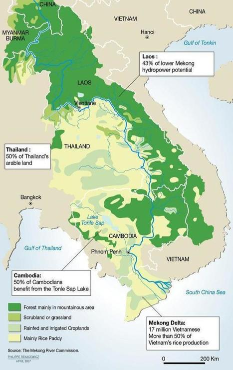 The Mekong River - survival for millions | GEP Water resources | Scoop.it