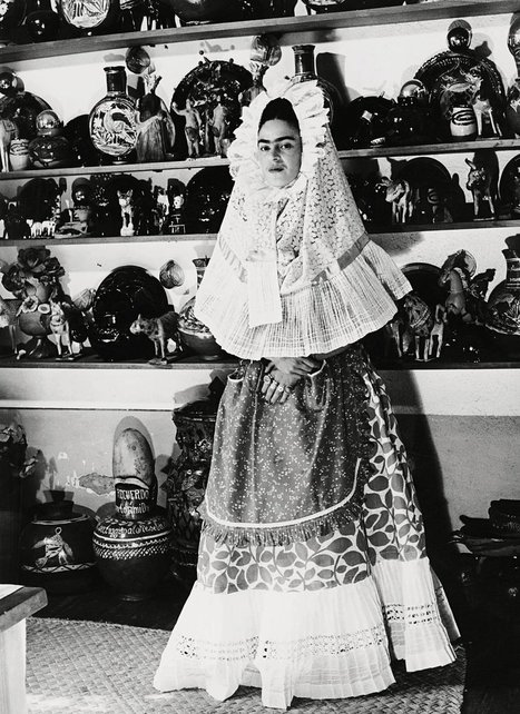 Frida Kahlo, A Global Fashion Icon | Fashion and Fashonians | Scoop.it