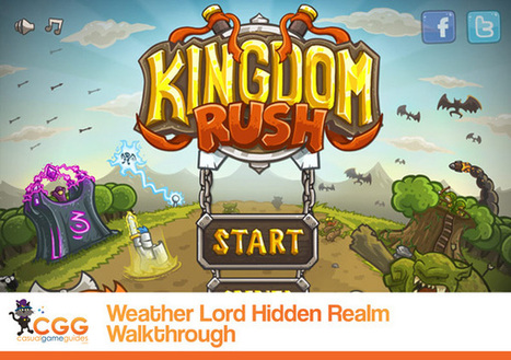 Kingdom Rush Walkthrough: From CasualGameGuides.com | Casual Game Walkthroughs | Scoop.it