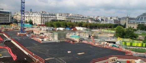 Pas de vacances pour le chantier des Halles - Le Parisien | Projet les Halles | Scoop.it
