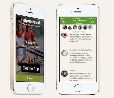 HelpAround: A Crowdsourced Safety Net for People With Diabetes | diabetes and more | Scoop.it