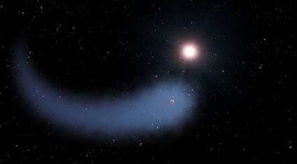 La planète qui avait une queue de comète | C@fé des Sciences | Scoop.it