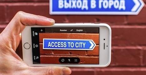 Traduction en temps réel : la nouveauté Google Translate • You Should Click | Internet tips | Scoop.it