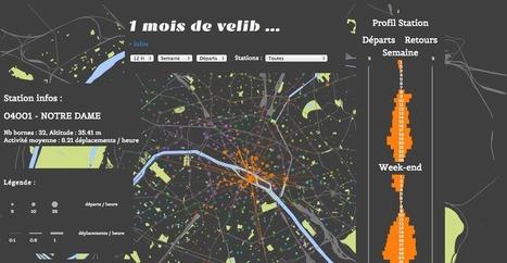 JCDecaux libère (encore) ses vélos | 694028 | Scoop.it