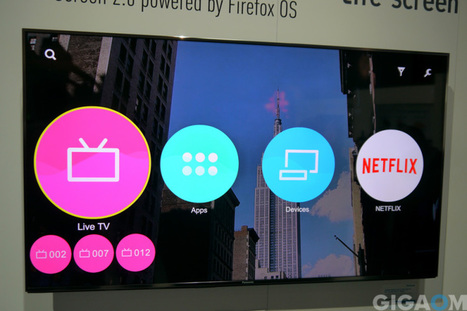 First look: This is Panasonic's Firefox OS-powered TV | ConnectedTV | Scoop.it