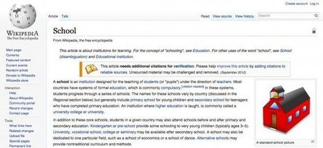A Teacher's Guide to Wikipedia | Teacher Resources for Our Staff | Scoop.it