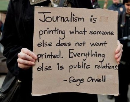 Journalism vs Public Relations « Just Wondering – Alternative News ... | Marketing Matters | Scoop.it