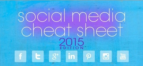 Ultimate Cheat-Sheet for everyday social media activity | Public Relations & Social Media Insight | Scoop.it