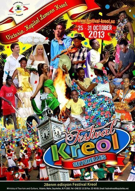 Seychelles launches its poster for their coming Festival Kreol 2013 | Seychelles | Scoop.it