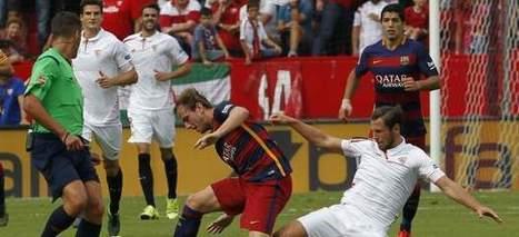 El Sevilla inflige al Barcelona su segunda derrota seguida fuera de casa (2-1) | e-Deportes | Scoop.it