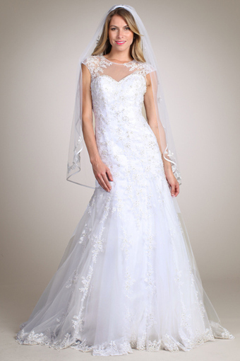 Rent Keyhole Back Lace Wedding Dresses Online | Rent The Dress | Wedding Dresses | Scoop.it