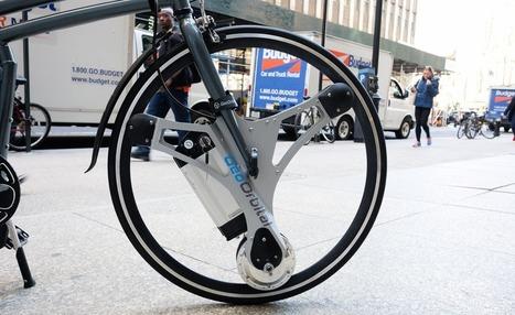 Cette roue transforme n'importe quel vélo en vélo électrique | Ressources pour la Technologie au College | Scoop.it