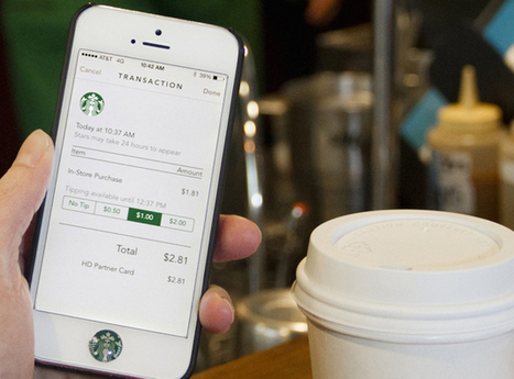 Starbucks wants you to use its app for payments in other stores   Digital Constructionism   Scoop.it