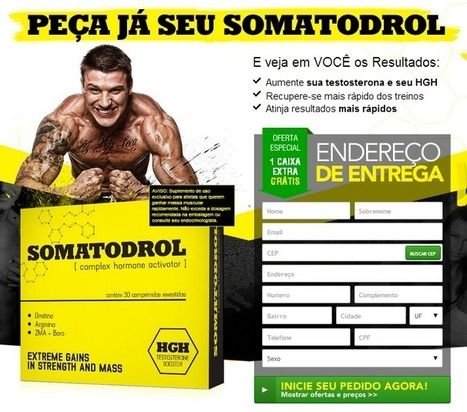 Somatodrol Revisão – Julgamento livre de risco!!! | Push Ups To Gain Muscle - Muscle Building Simplified | Scoop.it