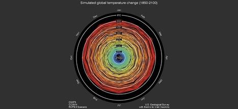 Ce gif est la meilleure visualisation du réchauffement climatique | Planete DDurable | Scoop.it