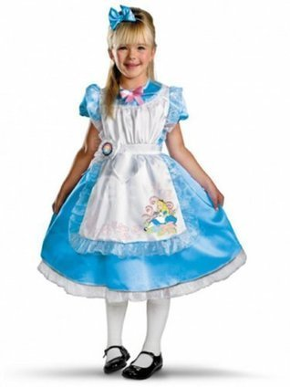 Disney's Alice in Wonderland - Alice Deluxe Child Costume [4012014] - $46.00 : Shopping Cheap Dresses,Costumes,Quality products from China Best Online Wholesale Store | Alice in the country of hearts cosplay costumes | Scoop.it