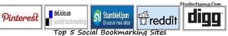 Top 5 Social Bookmarking Sites | SEO Company Bangalore | Scoop.it