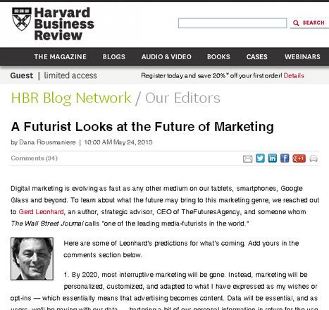 A Futurist Looks at the Future of Marketing   seo, sem, internet marketing   Scoop.it