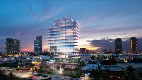 GLASS residential tower by rene gonzalez and terra group - designboom | architecture & design magazine | Architecture MIPIM | Scoop.it
