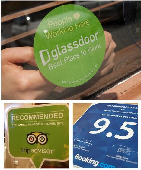 MANAGEMENT & EREPUTATION : Les avis de tes clients te stressaient, tu ne vas pas aimer Glassdoor ! | Professionnalisation tourisme | Scoop.it